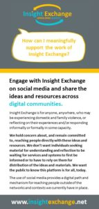 Insight Exchange Social Media Engagement Flyer Cover