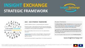 Insight Exchange Strategic Framework 2021-2022 Cover